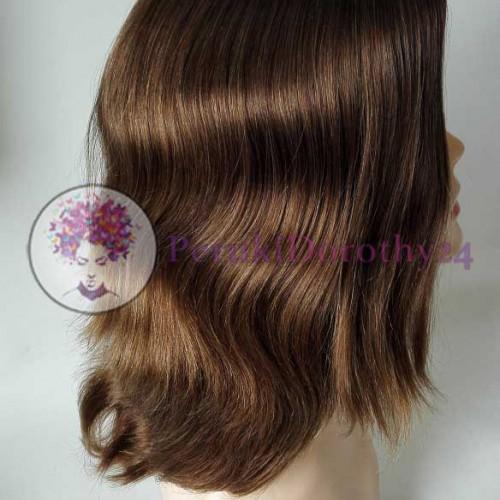 Peruka - włosy średniej długości