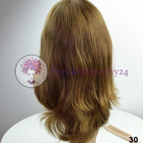 Peruka z naturalnych włosów