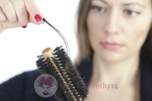 Wypadanie włosów podczas czesania