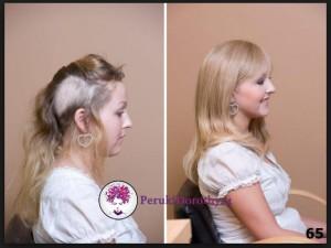 Włosy clip in naturalne